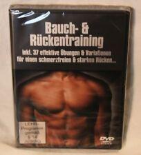 Bauch und Rückentraining DVD - Eingeschweißte Neuware!-  ***TOP-PREIS***