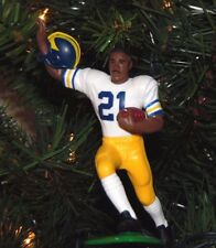 desmond HOWARD michigan WOLVERINES football XMAS tree ornament HOLIDAY jersey 21
