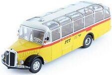 IXO MODEL BUS SAURER L4C 1959 SWISS PTT 1-43 SCALE BUS003