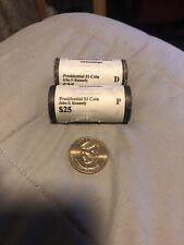 $1 Golden Dollar Coin Bank Rolls Jfk