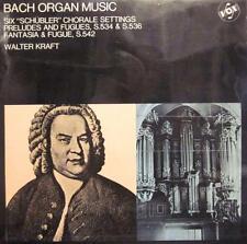 Bach (VINYL LP) Organ Music-VOX-STGBY 603-UK-VG/VG