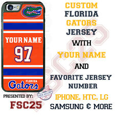 Florida Gators Football Phone Case Cover Personalized for iPhone Samsung etc.