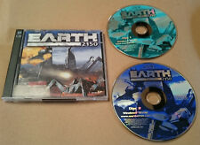 EARTH 2150 VINTAGE PC GAME