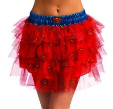 Supergirl Tutu Skirt for Teens (dress size 2-6) New by Rubies 887911