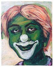 PRANAB ROY CHOWDHURY ORIGINAL ACRYLIC PAINTING INDIAN CONTEMPORARY ARTIST # 6
