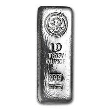 10 oz Silver Kit-Kat Bar - ShinyBars - SKU #105174