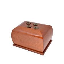 Madera Mascota cremación URNAS PARA GATO O PERRO Ashes Único CONMEMORATIVO zd11