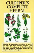 Culpeper's Complete Herbal by Nicholas Culpeper (1994, Hardcover)