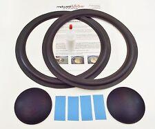 "ESS PS-12C 12"" Woofer Speaker Repair Refoam Kit w/ Dust Caps!"