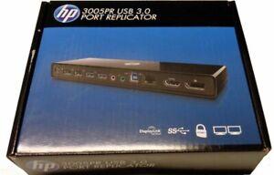 HP 3005pr Port Replicator USB 3.0 Docking Station Notebook H1L08AA *BRAND NEW*