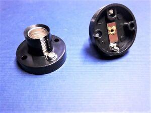 A 63/ Lampenfassung Sockel für Glühlämpchen Lämpchen E10 ( mit Schraubanschluss)