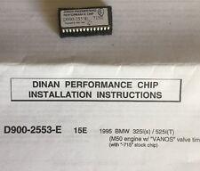 Dinan Performance Engine Chip For BMW E36 325i / E34 525i D900-2553E 92-1995 +