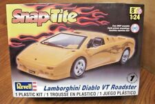 REVELL SNAP-TITE LAMBORGHINI DIABLO VT ROADSTER MODEL KIT 1/24 SCALE