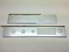 1964 64 Impala Super Sport Dash Trim Molding Fascia Plate Set SS Swirl Tape