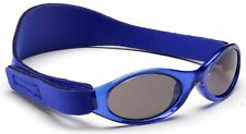 BABY BANZ ADVENTURER SUNGLASSES BLUE 0-2YRS 100%UVA UVB SUN PROTECTION NEW