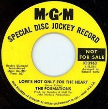 NORTHERN SOUL / MOTOWN - FORMATIONS - LOVE'S NOT ONLY FOR THE HEART - MGM - HEAR