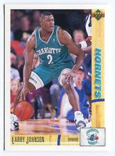 1993 Upper Deck French McDonald's #14 Larry Johnson Hornets carte NBA Basketball