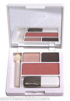 Clinique ALL ABOUT SHADOW DUO & BLUSHING BLUSH Eyeshadow/Blusher Compact Palette