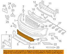 VW VOLKSWAGEN OEM Jetta Front Bumper-Lower Bottom Grille Grill 5C6853677Q9B9