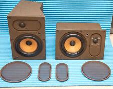 Bowers & Wilkins B&W LM1 Speakers The Leisure Digital Monitors Studio Vintage .