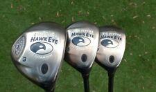 New listing Callaway Big Bertha Hawkeye 3,5,7 Woods, Right Hand