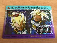 Carte Dragon Ball Z DBZ PP Card Part 19 #802 Prisme (Version Soft) AMADA 1992