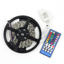SUPERNIGHT® RGBW 5M 300 LED Strip Light 5050 SMD Non-Waterproof+40Keys IR Remote