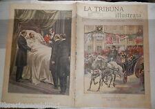 Vittorio Emanuele III in Russia Zar Nicola II Convalescenza del Re d Inghilterra