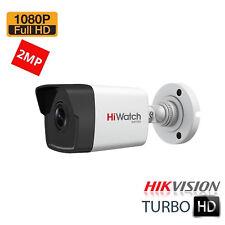 HiWatch Hikvision THC-B220 2.8mm CCTV Bullet Camera 1080p HD TVI CVI AHD 2MP UK