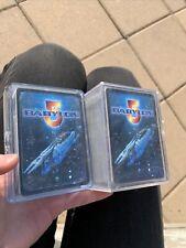 1997 Babylon 5 Trading Card Set