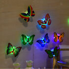 10-pack Colorful 3d Butterfly Wall Stickers Led Light Decals Home Decor Room