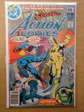 ACTION COMICS #488 NM (9.4) DC BRIAN BOLLAND COLLECTION WITH SIGNED CERT