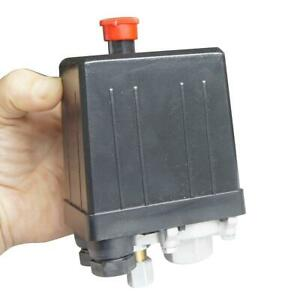 Air Compressor Pressure Control Switch [Type: One Port - Four Ports]