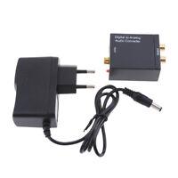 Adattatore convertitore digitale ottico da coassiale a rca analogico con