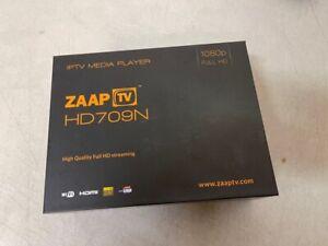 NEW  ZAAPTV HD709 IPTV Media Player -J6947