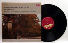 DAVID OISTRAKH, KONWITSCHNY - BRAHMS violin concerto HELIODOR LP NM