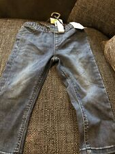 Toddler Blue Stretch Jeans Size 18-24 Months New