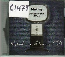 (CJ476) Mutiny, Aftershock 2005 - 1995 DJ CD