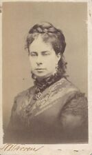 1870S CDV PORTRAIT OF OPERA SINGER ADELAIDE PHILLIPPS BY WARREN OF BOSTON, MASS