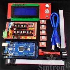 3D Printer kit RAMPS 1.4 + Mega 2560 R3 + 5pcs A4988 + LCD 2004 Display Prusa i3