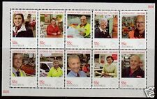 AUSTRALIA 2009 POST OFFICE SHEETLET OF 10 UNMOUNTED MINT 2nd ISSUE