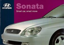 Hyundai Sonata 1998-99 UK Market Sales Brochure 2.0 GSi CDX 2.5 V6