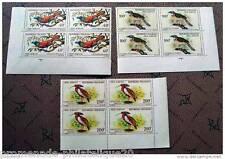 MADAGASCAR timbre - stamp aérien yver et tellier n°89 à 91 - bloc de 4 - n**