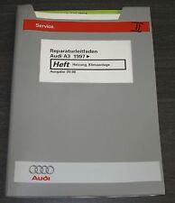 Werkstatthandbuch Audi A3 Quattro Typ 8L Heizung Klimaanlage Klima ab 1997