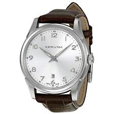 Hamilton Jazzmaster Brown Leather Mens Watch H38511553-AU