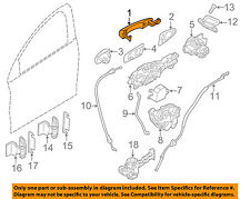 VOLVO OEM 13-16 S60-Outside Exterior Door Handle Right 39832341
