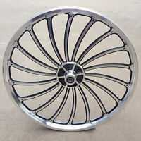 Aluminum Bicycle Front or Rear Wheel 20 X 1.75/2.125/2.5'' eBike Chopper Nice