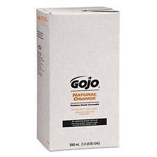 Gojo Orange Pumice Hand soap Refill, Citrus, 5000 mL, (GOJ7556)