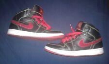 RARE Air Jordan 1 Retro Phat Premier Size 7  375173-062 Black/Red AWESOME