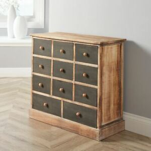 Wooden Merchant Chest of Drawers Storage Sideboard Bedroom Living Room Seconds